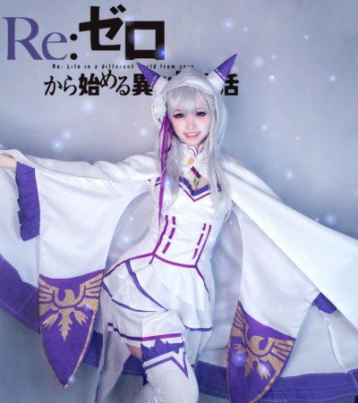 [𝕄𝕚𝕟✿]x[Re:Zero] x[Emilia] 5pic +α